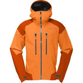 Norrøna M's Trollveggen Gore-Tex Pro Jackets Pure Orange